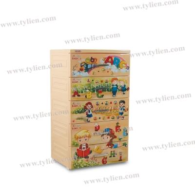 Tủ Baby-S Bé Đi Học  - Kem