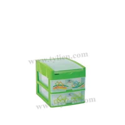 Tủ Nhựa Mini L Trắng Trong 3 Ngăn